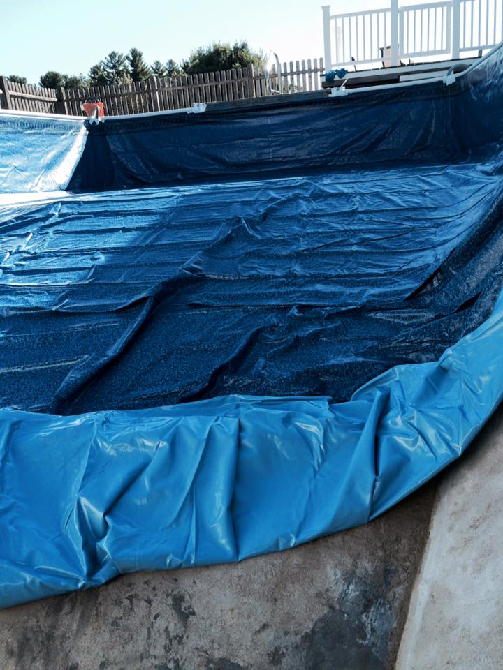 Construction mowry brothers pools for Vermiculite swimming pool base